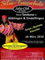 NEUE Tanzkurse in Böblingen <br />Ab März jeden Montag: