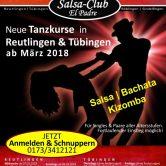 Die Tanzkurse in Tübingen <br />Ab März 2018: Dienstags wie bisher