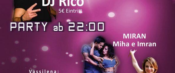 12.05.2018 |  Tübingen | <br />DIAMOND-PARTY mit Workshops <br />Bachata Sensual mit MIRAN &#038; Ladystyling mit Vassilena<br />