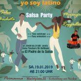 YO SOY LATINO | Salsa Party | <br />Samstag 19.01.2019 Rottenburg
