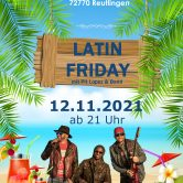 12.11.2021 – Latin Friday mit Live Band
